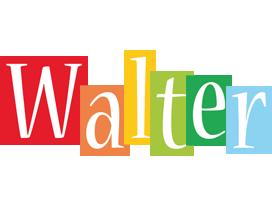 Walter colors logo
