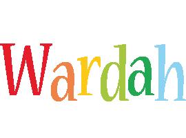 Wardah birthday logo
