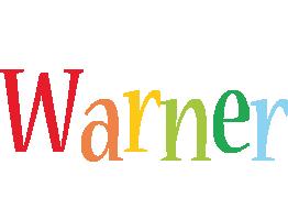 Warner birthday logo