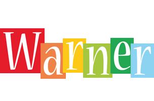 Warner colors logo