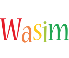 Wasim birthday logo