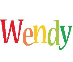 Wendy birthday logo