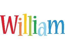William birthday logo