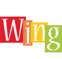 Wing colors logo