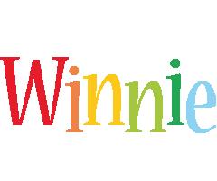 Winnie birthday logo