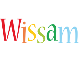 Wissam birthday logo
