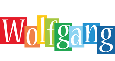 Wolfgang colors logo