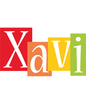 Xavi colors logo