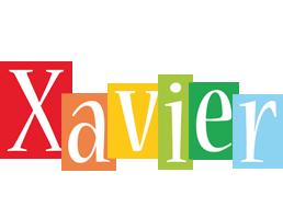 Xavier colors logo