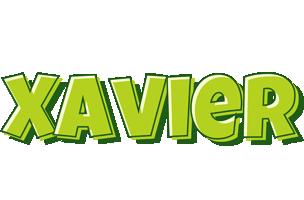 Xavier summer logo