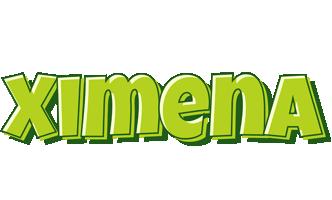 Ximena summer logo