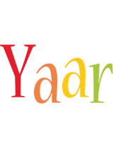 Yaar birthday logo