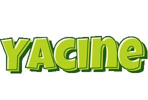 Yacine summer logo