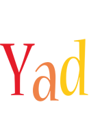 Yad birthday logo