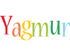 Yagmur birthday logo