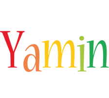 Yamin birthday logo