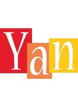 Yan colors logo
