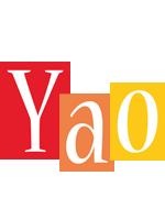 Yao colors logo