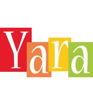 Yara colors logo