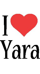 Yara Logo   Name Logo Generator - Kiddo, I Love, Colors Style