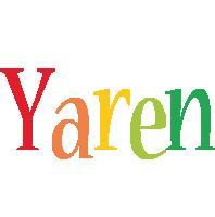 Yaren birthday logo