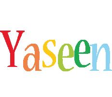 Yaseen birthday logo