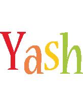 Yash birthday logo