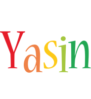 Yasin birthday logo