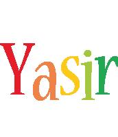 Yasir birthday logo