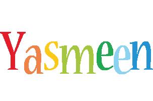 Yasmeen birthday logo