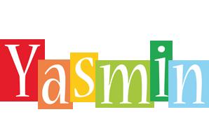 Yasmin colors logo