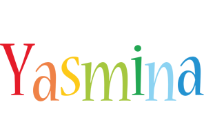 Yasmina birthday logo