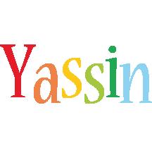 Yassin birthday logo