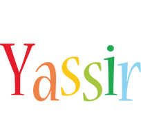 Yassir birthday logo