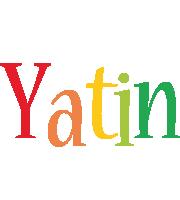 Yatin birthday logo