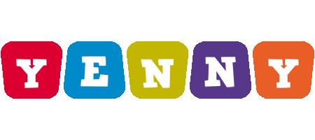 Yenny kiddo logo