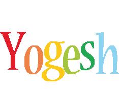 Yogesh birthday logo