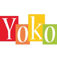 Yoko colors logo
