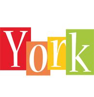 York colors logo