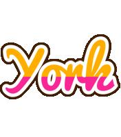 York smoothie logo