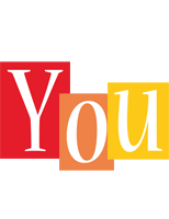 You colors logo