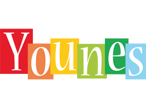 Younes colors logo