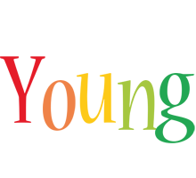 Young birthday logo