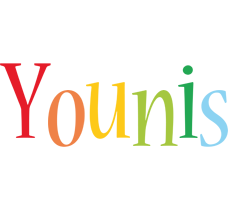 Younis birthday logo