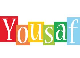 Yousaf colors logo