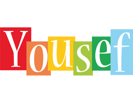 Yousef colors logo