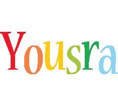 Yousra birthday logo