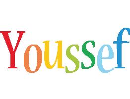 Youssef birthday logo
