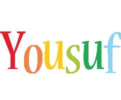 Yousuf birthday logo