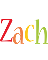 Zach birthday logo